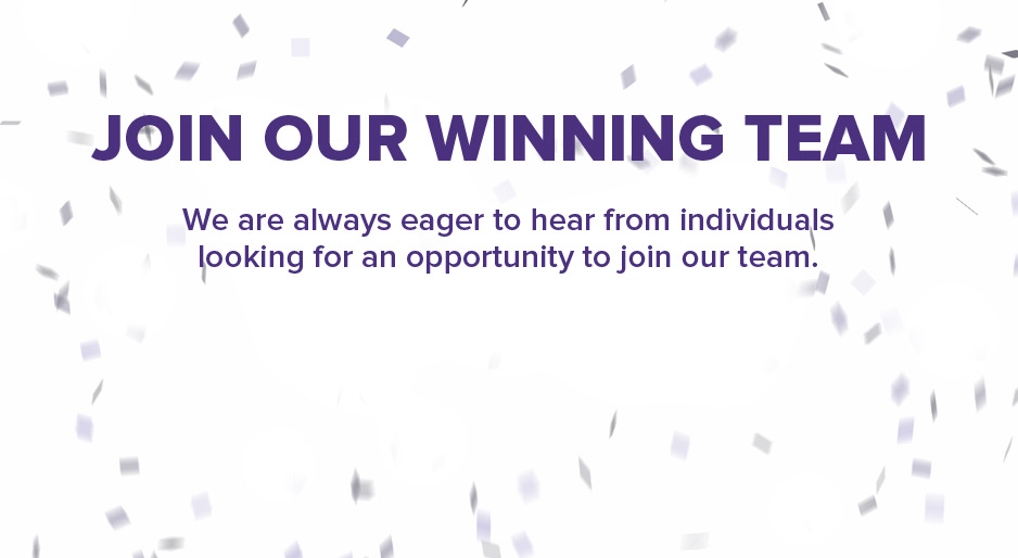 Join Our Winning Team